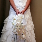 bouquet, wedding dress - Ilse Roux Bridal Wear