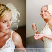 headpiece - Ilse Roux Bridal Wear