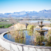 fountain, mountain, winelands, paarl venue - Nantes Estate