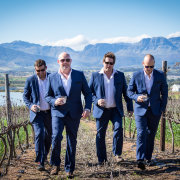groomsmen, suit, winelands - Nantes Estate