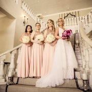 bouquets, bride and bridesmaids, bridesmaids dresses, bridesmaids dresses - Nantes Estate