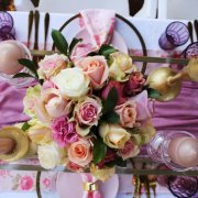 floral centrepieces - Weddings By Esmie