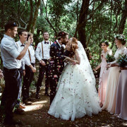confetti, outdoor ceremony - Southern Sound