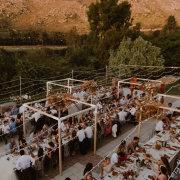 fairy lights, outdoor reception - Olive Rock Wedding Venue