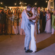 bride and groom, bride and groom, first dance - Olive Rock Wedding Venue