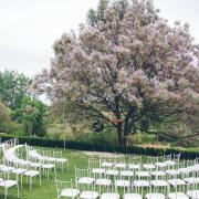 outdoor ceremony - Olive Rock Wedding Venue