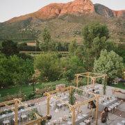 outdoor reception - Olive Rock Wedding Venue