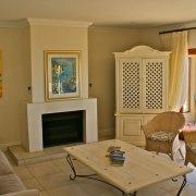 accommodation, fireplace