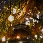 hanging decor, naked bulbs, wedding decor - Au d' Hex Estate - Venue | Boutique Manor House | Restaurant