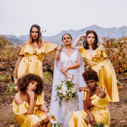 bride and bridesmaids - Au d' Hex Estate - Venue | Boutique Manor House | Restaurant