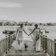 bride and bride - Au d' Hex Estate - Venue | Boutique Manor House | Restaurant