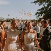 confetti, outdoor ceremony - Au d' Hex Estate - Venue | Boutique Manor House | Restaurant