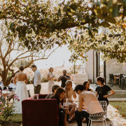 outdoor reception, pre drinks - Au d' Hex Estate - Venue | Boutique Manor House | Restaurant