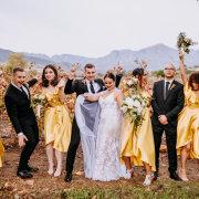bridal party - Au d' Hex Estate - Venue | Boutique Manor House | Restaurant
