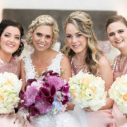 bouquets, bride and bridemaids - Caren Fourie