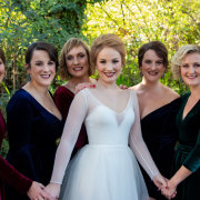 bride and bridesmaids - Chantelle Bee Bridal & Evening Gowns