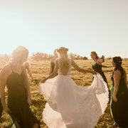 bride and bridesmaids, wedding dresses, wedding dresses, wedding dresses - Chantelle Bee Bridal & Evening Gowns