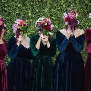 bouquets, bridesmaids dresses, bridesmaids dresses - Chantelle Bee Bridal & Evening Gowns