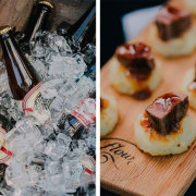 canapes, drinks - Rickety Bridge