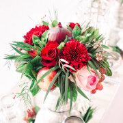 floral centrepiece - Heavens Gate Venue
