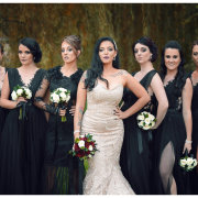 bride and bridesmaids - Heavens Gate Venue