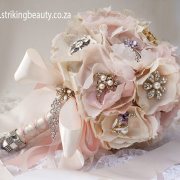 bouquet, brooch, pink