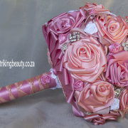 pink, brooch - Brooch Bouquets - South Africa