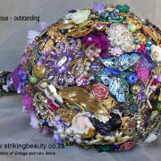 bouquet, brooch