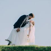 bride and groom, bride and groom, bride and groom, kiss, kiss, kiss - BrigFord Photography