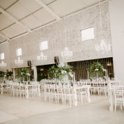 chandelier, fairy lights, floral centrepiece, hanging decor - Whispering Thorns