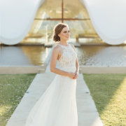 bride, lace, lace, wedding dresses - Evelyn Francis