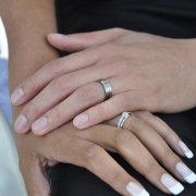 nails, wedding ring, groom, wedding band