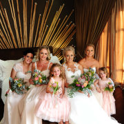 bride and bridesmaids, flower girls - Palala Boutique Game Lodge & Spa