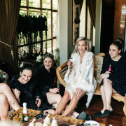 bride and bridesmaids, getting ready - Palala Boutique Game Lodge & Spa