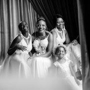 bride and bridesmaids - Palala Boutique Game Lodge & Spa