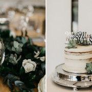cake, greenery - Jenny B  Flowers