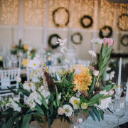 floral centrepiece - DuVon Wine and Wedding Estate