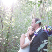 bouquet, forest, jewellery, tie, blue, bride and groom