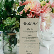 stationery - The Shed Function Venue at De Meye Wine Farm