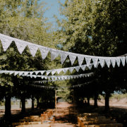 bunting - The Shed Function Venue at De Meye Wine Farm