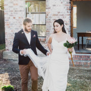 wedding dress - The Shed Function Venue at De Meye Wine Farm