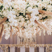 floral decor, hanging florals - It Comes Naturally