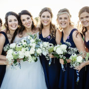 bride and bridesmaids - Belinda Hougaard - Hair Therapy
