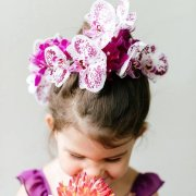 floral head piece, flower girl - Opulence – INFINITE LUXURY