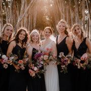 bouquets, bride and bridesmaids - Dané Verwey Florals