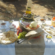 cheese platter - Wild Almond Catering