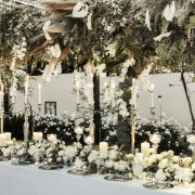 wedding floral decor, wedding hanging decor - Caar\