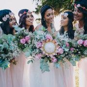 flowers, bridesmaids dresses - Fabulous Fynbos