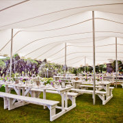 marquee, outdoor ceremony