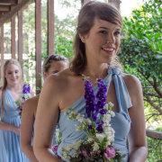 bouquet, bridesmaids
